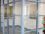 Commercial vestibule and partitions 01